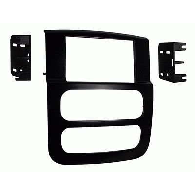 Metra 95-6522B Double DIN Stereo Install Dash Kit for Select 2002-2005 Dodge ()