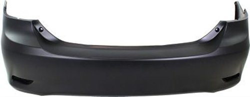 (Crash Parts Plus Primed Rear Bumper Cover Replacement for 2011-2013 Toyota Corolla)