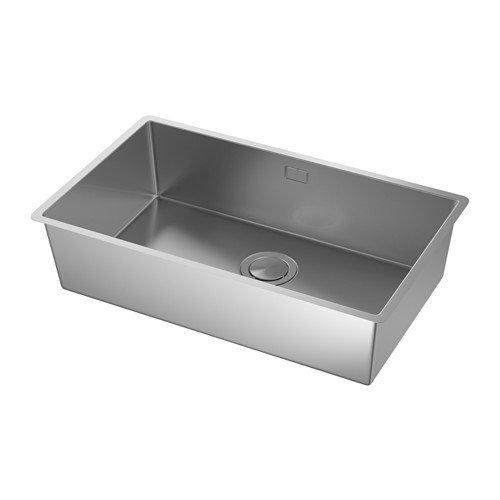 Ikea norrsjön fregadero 1 platillos; de acero inoxidable; incluye ...