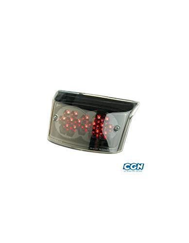 Motodak Feu AR Scooter tunr* Black a LEDs Adapt Booster//bws 04 Transparent