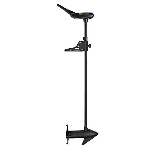 Gamakatsu Minn Kota 1355964 Pontoon Hand Control, Bow Mount 12v (55 lbs), Black, 52-Inch Shaft