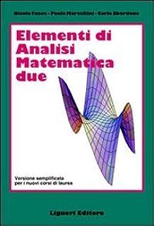 elementi di analisi matematica 2