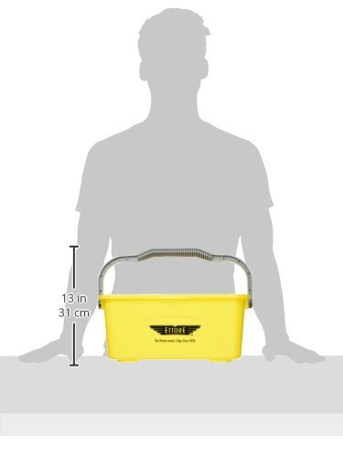 86000 Compact Super Bucket with Ergonomic Handle, 3 Gallon by Ettore. (Image #1)