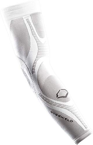 Compression Arm Sleeve, White, Small/Medium ()