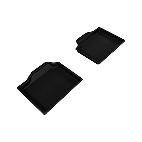 Top 3D MAXpider Second Row Custom Fit Floor Mat for Select Mini Countryman Models - Kagu Rubber (Black)