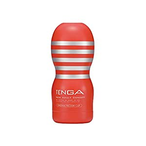 TENGA Original Vacuum Cup for Men, Pre-Lubricated Male Masturbator, Intense Pleasure Masturbation & Intimate Adult Suction Massage Device, TOC-101 Standard