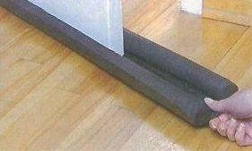 Türwindstopper boudin de porte 90 cm coupe vent gris türwindstopper doppeldichtung