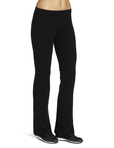 - Spalding Women's Bootleg Yoga Pant, Black, Medium