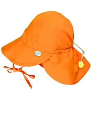 i play Baby Girls' Solid Flap Sun Hat (Baby) by i play.