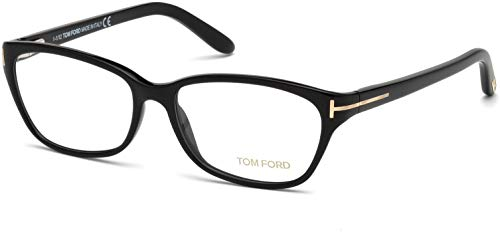 Tom Ford Eyeglasses TF 5142 BLACK 001 TF5142 (Linda Ford Tom)