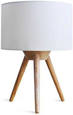 Lámpara de mesa de E27 lámpara dormitorio moderno fácil tres patas ...