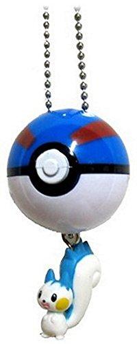 Pokemon Diamond & Pearl Keychain Figure with (Pokemon Pearl Pachirisu)