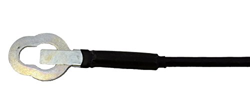 Crew Cabs ONLY Tailgate Cable PT Auto Warehouse TC-TO003 17 15//16 Length