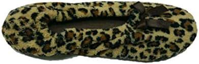 Secret Treasures Women/'s 2 Pack Ballerina Slippers Size 7-8 Medium