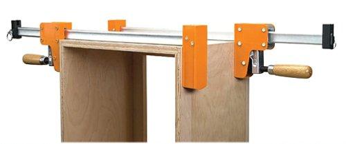JORGENSEN 8060 Cabinet Master 60 Inch 90 Degree Parallel Steel Bar Clamp