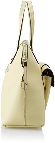 Chicca Borse 8617, Borsa a Mano Donna, 38x30x13 cm (W x H x L) Giallo