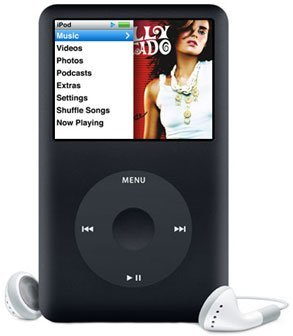 Apple iPod classic 160GB 6th Generation(Black)  (Discontinued by Manufacturer) by Apple