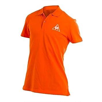 le coq Sportif PSS M Chronic, Polo, Naranja, Talla L: Amazon.es ...