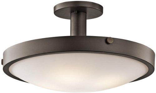 Kichler 42246OZ Lytham Semi-Flush 4-Light, Olde Bronze