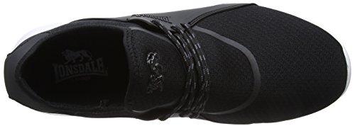 Lonsdale Men's Sirius Fitness Shoes Black (Black/Grey) Fs5VcUVDF