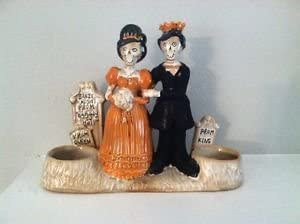 Yankee Candle 2013 Boney Bunch Prom King Queen Double Tealight Holder