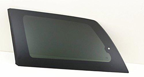 2004 Quarter Window - NAGD Fits 2004-2010 Toyota Sienna Driver Left Side Quarter Window Glass Movable