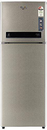 Whirlpool 265 L 3 Star Frost-Free Double Door Refrigerator (NEO DF278 PRM REAL STEEL(3S)