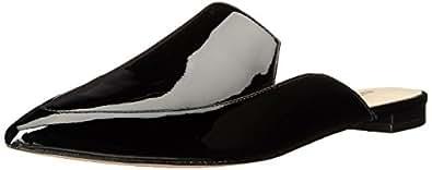 Nine West Women's Alibelle Patent Mule, Black, 5.5 M US