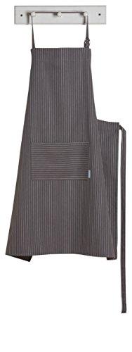 Now Designs Oversized Apron, Pinstripe Granite - Pinstripe Apron
