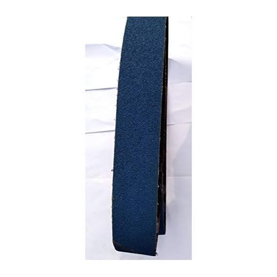 Excel Abrasive Zircon Belts 2000 x 50 For Metal Polishing All Grit (60,80,120,320,400)