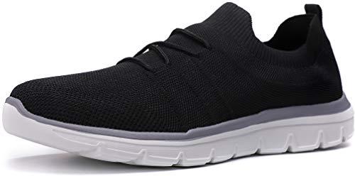 Kuzima Men s Light Air-Permeable Mesh Flying Weaving Sports Shoes