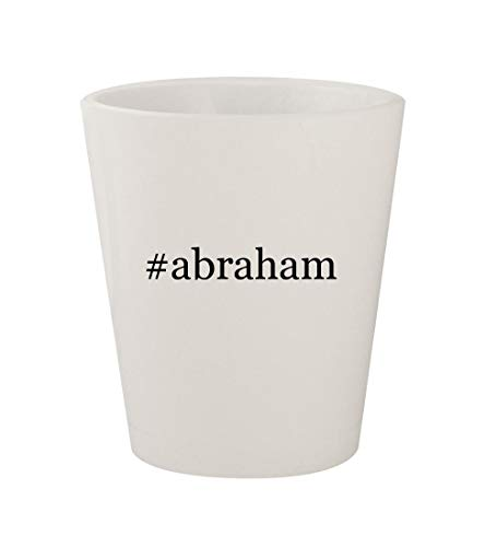 #abraham - Ceramic White Hashtag 1.5oz Shot Glass -