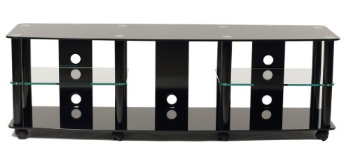 (TransDeco TV Stand with Caster for 35 to 70-Inch Plasma/LED/LCD TV)
