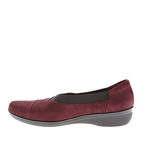 Clarks Womens Everlay Eve Slip-on Melanzana Mocassino