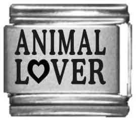 Animal Italian Charms - Animal Lover Laser Italian Charm