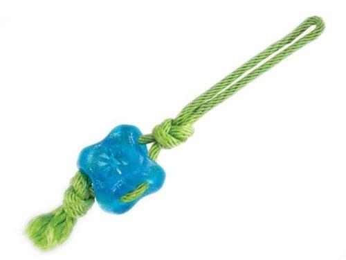 Grriggles Fundamentals Treat Tug Pet Toy, Bluebird, My Pet Supplies