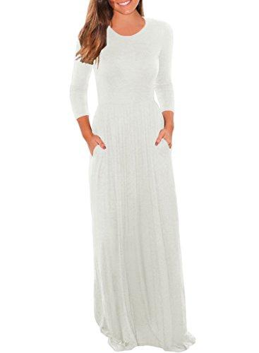 3/4 length sleeve dresses plus size - 8