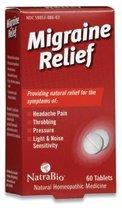 Natrabio Migraine Relief Tablets, 60 Count