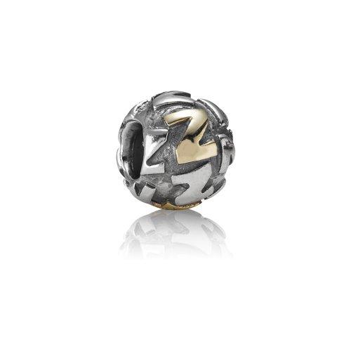 Pandora - 79298-Z - Drops Femme - Lettre - Initiale - Argent 925/1000