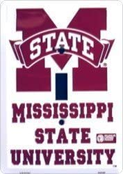 Tag City Novelty Signs Mississippi State Bulldogs Metal Light Switch Plate