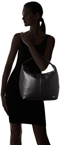 HUGO Emma 10195704 01, Henkeltasche femme, Schwarz (Black), 40x38x18 cm (L x H P)