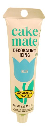 Decorate Icing, Blue 4.25 oz.