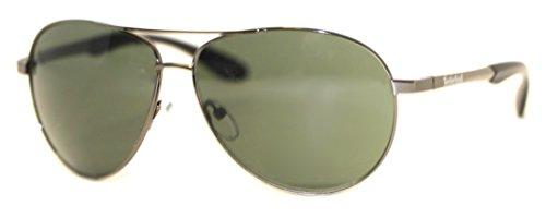 (Timberland Unisex TB7114 Shiny Gunmetal/Green One Size )
