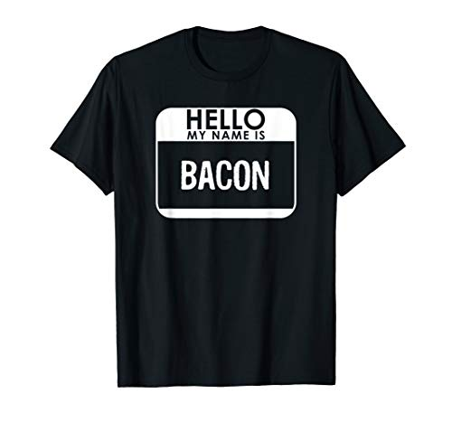 Bacon Costume Shirt Funny Easy Halloween Outfit ()