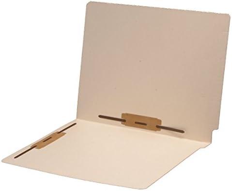 14 pt Manila Folders, Full Cut 2-Ply End Tab, Letter Size, Fastener Pos #3 & #5 (Box of 50)