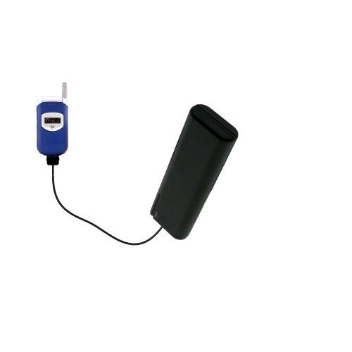 Gomadic Advanced Motorola V260 V262 V265 V266 V276 compatible AA Battery Pack Charge Kit - Portable power built with upgradeable TipExchange Technology