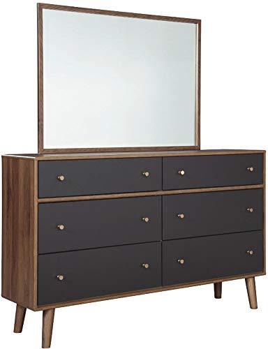 Signature Design by Ashley B292-36 Daneston Bedroom Mirror, Brown ()