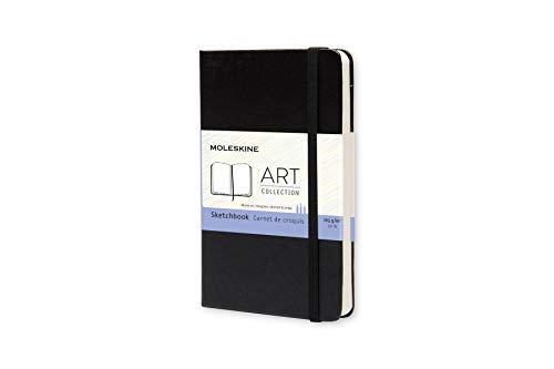 Moleskine Art Plus Hard Cover Sketchbook, Plain, Pocket Size (3.5