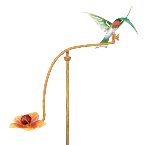 Red Carpet Studios 34271 28-Inch Mini Balancing Yard Art, Hummingbird