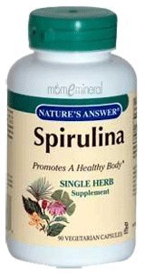 Natures Answer Herb Spirulina, 90 ct